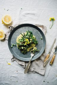 asparagus, pea + bro