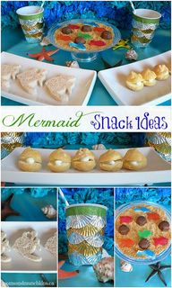 Mermaid Party Food #