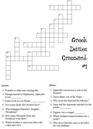Greek mythology cros
