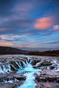 Deep Blue, Iceland,
