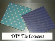 DIY Tile Coasters...
