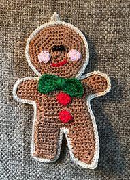 Craft Attic Resources: Gingerbread Man Ornament