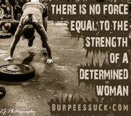 Determined women of