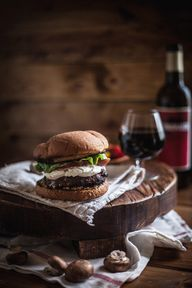 Red Wine Burgers wit...