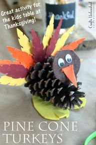 Pine Cone Turkey Cra