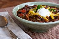 Chili made with drie