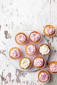 Looking for a sweet treat that will really wow your friends and family? These pretty vanilla fairy cakes are just the ticket – and the secret is that they're actually incredibly easy to make. Use the basic mix from our all-in-one Victoria sponge and dress it up with colourful frosting and a dusting of sprinkles.