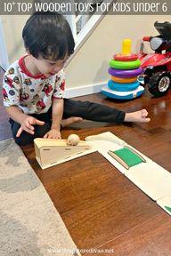 10+ Top Wooden Toys For Kids Under 6 - Drugstore Divas