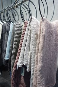 knitted blankets - c