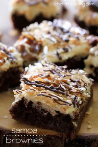 Samoa Brownies... th