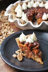 Carrot Cake Pecan Pie #SpringSweetsWeek