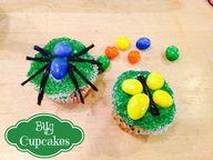 M&M Bug Cupcakes
