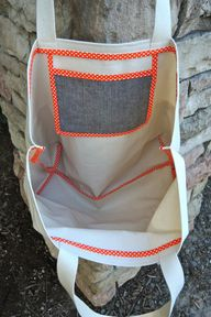 canvas tote bag with...