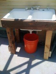 5 gallon bucket sink