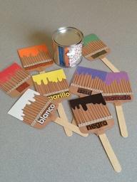 """Using """"paintbrushes"""""""