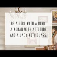 Be a girl with a min