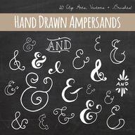 Chalkboard Ampersand