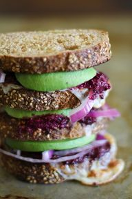Avocado Beet Pesto S