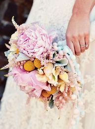 Bouquet of peonies,