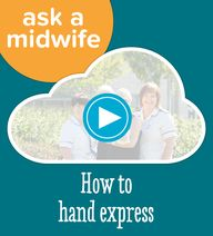 How to hand express.