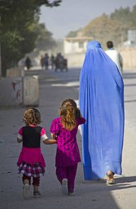 Out with Mom . Afghanistan