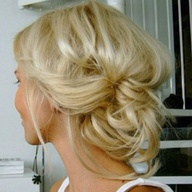 Cute and messy updo