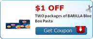 $1.00 off TWO packag