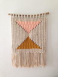macramé weaving by S