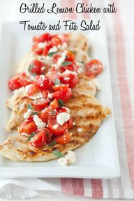 Grilled Lemon Chicke