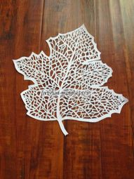 SimpleJoys: Paper Cut Leaf