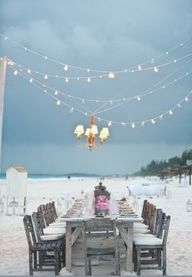 Idea for a beach wed