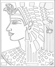 Egyptian Coloring Pa