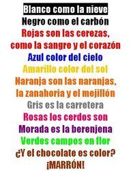 Poesía + colores  A