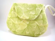 Pale Green Clutch Pu