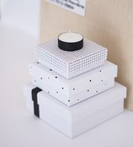 Diy storage boxes -
