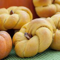 Savory Pumpkin Rolls