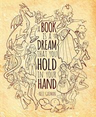 Books are dreams