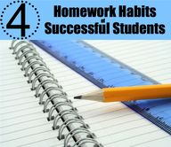 4 Homework Habits of