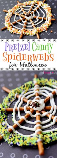 Pretzel Candy Spider