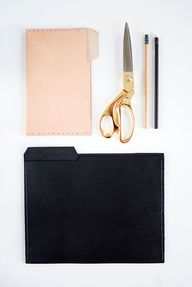 DIY chic leather fil