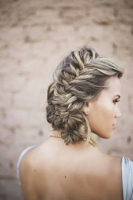 beautiful braided ha...