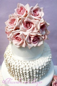 Wedding Cake Ruffles