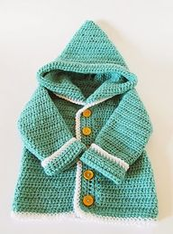 free crochet baby ca