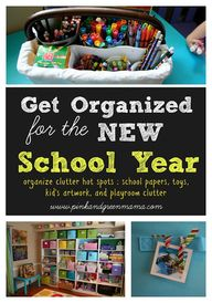 Get Organized For A