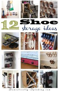 12 Shoe Storage Idea