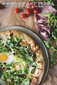 Breakfast Pizza \\ P
