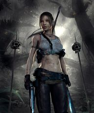 Lara Croft in DAZ St