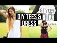Easy DIY T-Shirts &