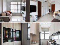 2 room BTO design / Small apartment design and decor in SIngapore