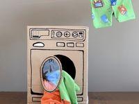 For the Kids :: Cardboard Activities